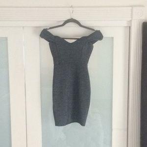 Windsor off the shoulder mini dress